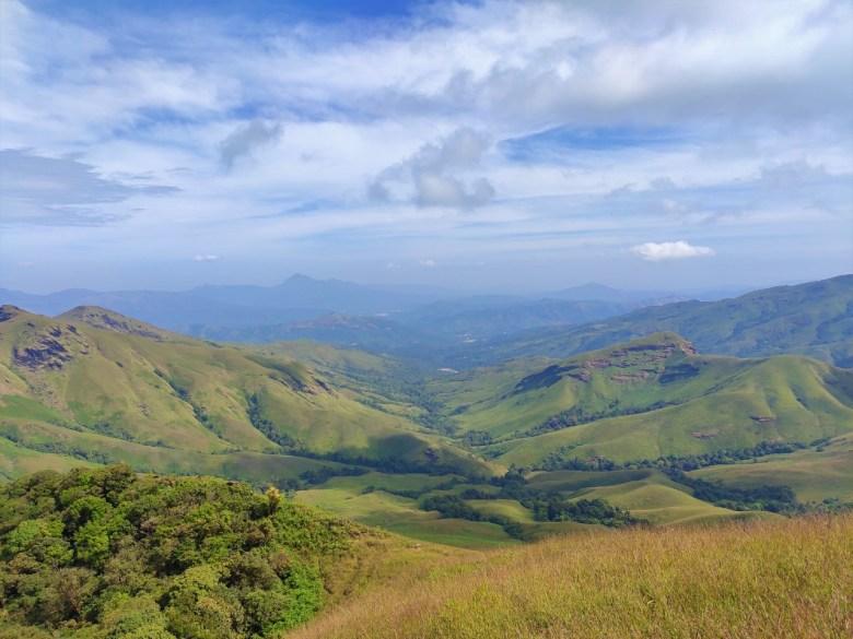 Most Beautiful View In Kudremukh Trek