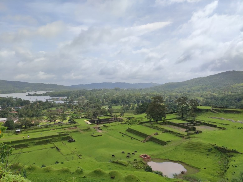 Nagara Fort In Monsoons