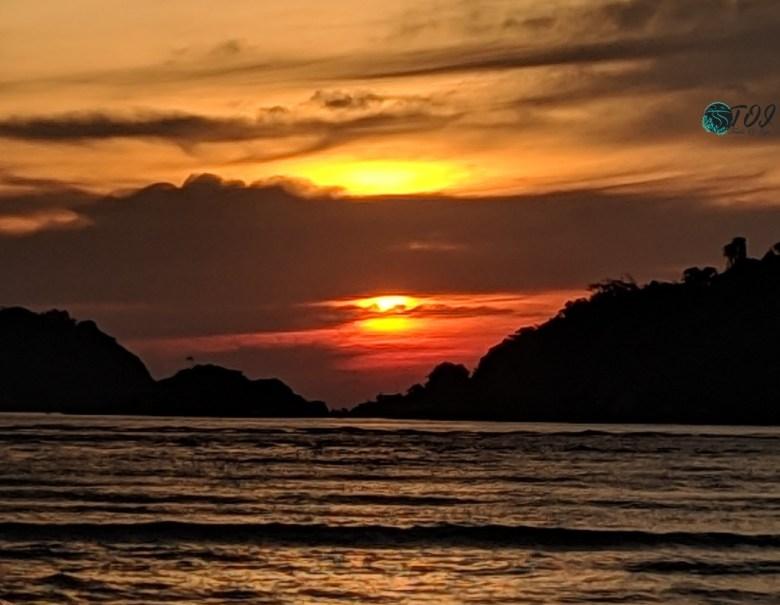 Sunset At Devbagh Beach Karwar