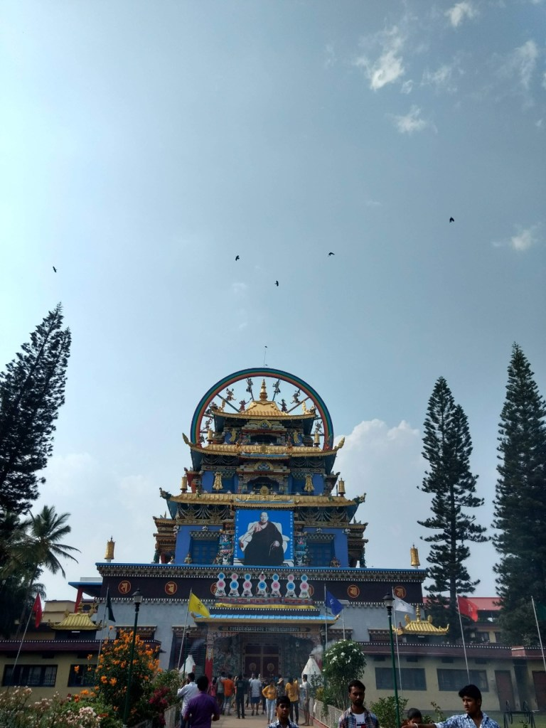 Golden Temple In Bylakuppe Coorg