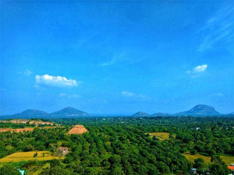Landscapes During Hike To SRS Hills