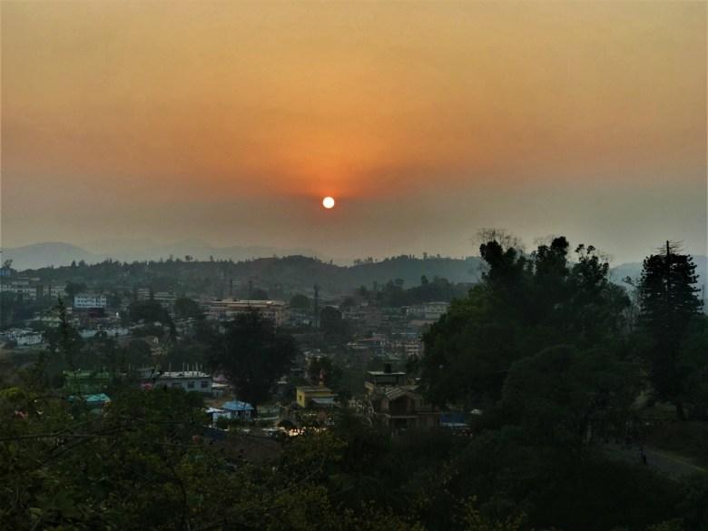 Sunset Over Madikeri Coorg