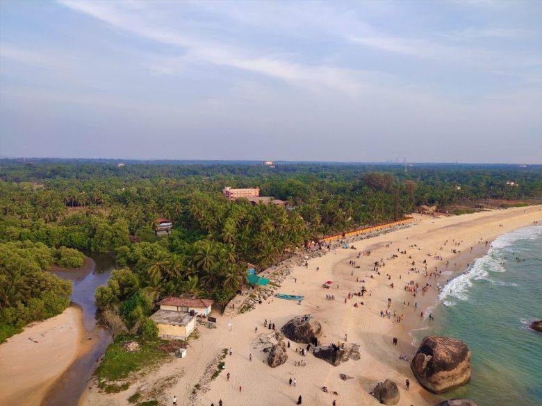 Beach View From Kapu Light House