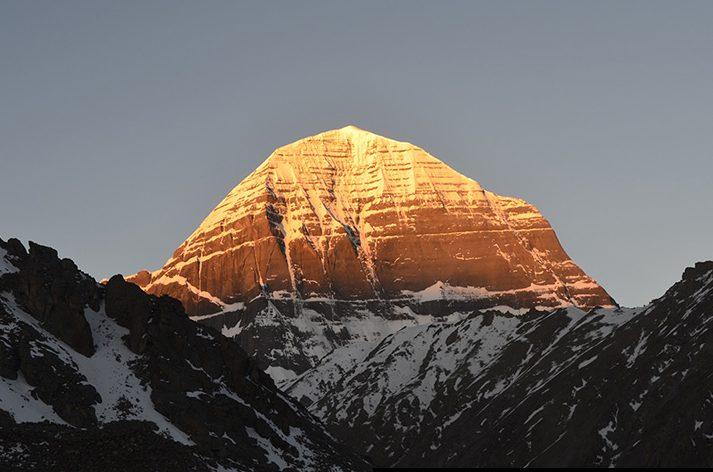 Sunrise On Mt. Kailash