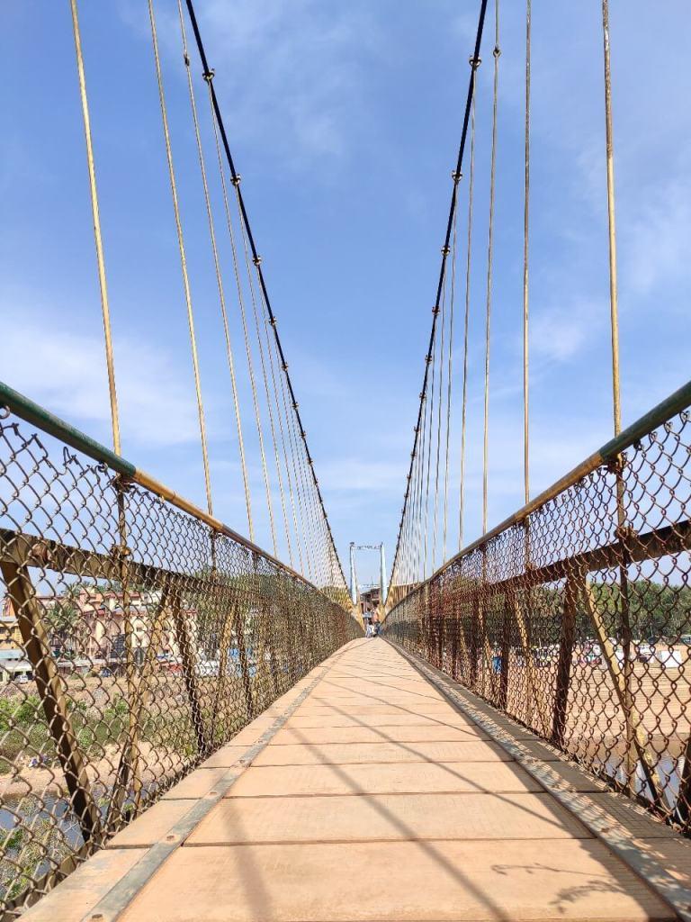 Hanging Bridge At Sringeri