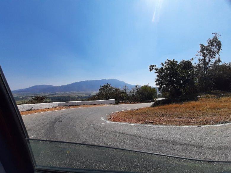 Winding Road En Route Kemmangundi