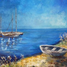 Peaceful Waters – canvas