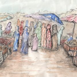 Market Day – giclee print