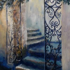The Secret Gate – giclee print