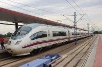 AVE highspeedtrain from Madrid to Toledo, Spain