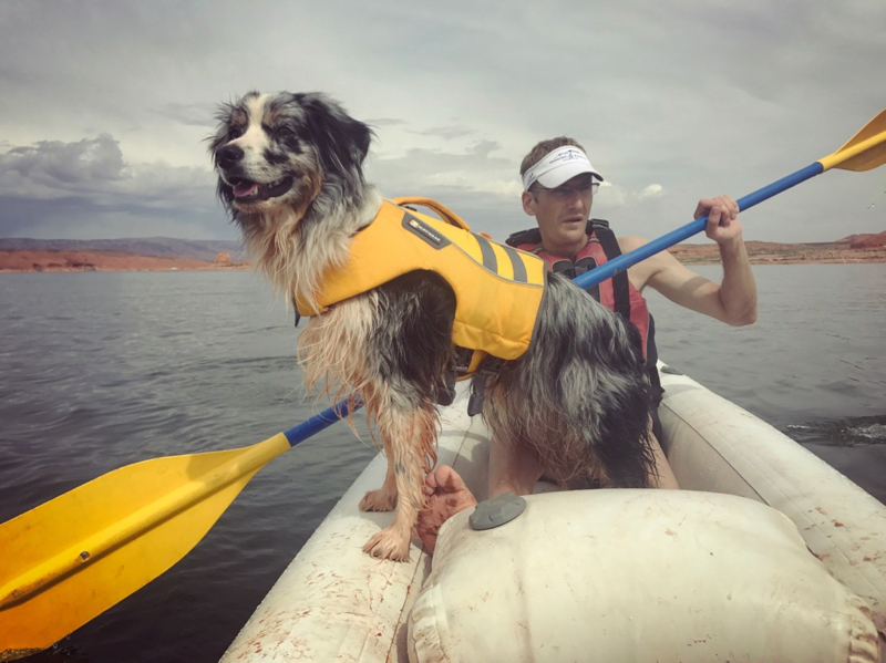 Ruffwear Life Jacket Lake Powel