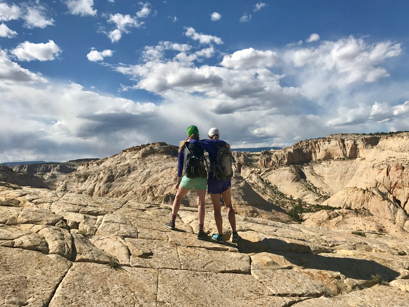 Looking into Lower Death Hollow, Grand Staircase-Escalante National Monument