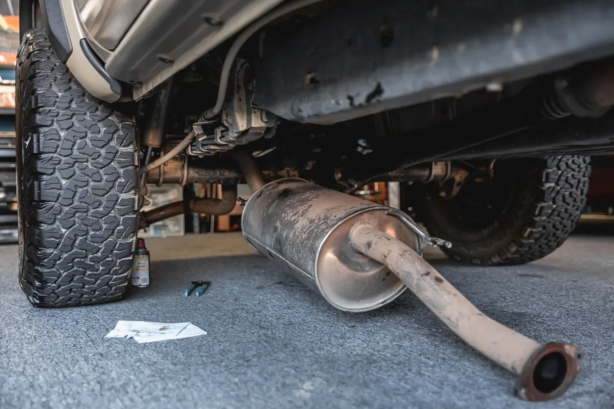 mbrp xp cat back exhaust install