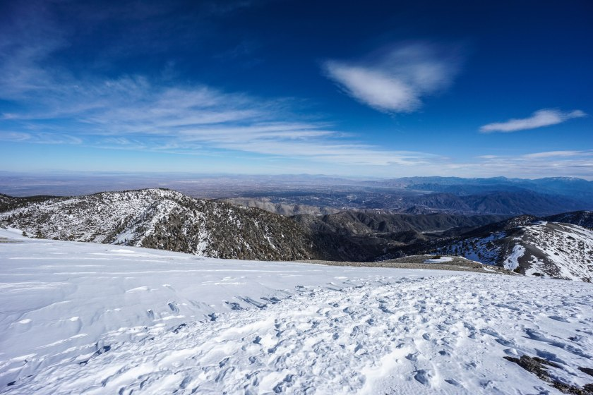 Mt. Baldy Summit In The Snow Photo Gallery