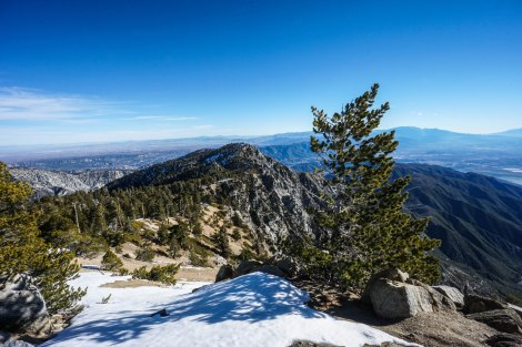 Etiwanda Peak and San Gorgonio