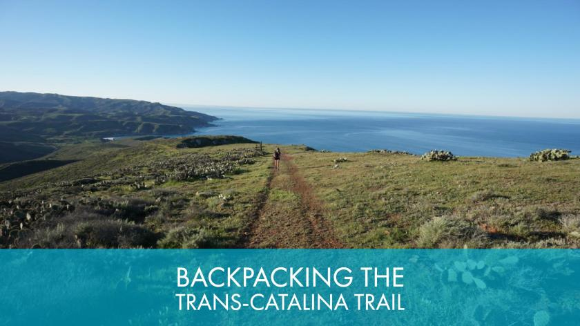 A Guide To Backpacking The Trans-Catalina Trail