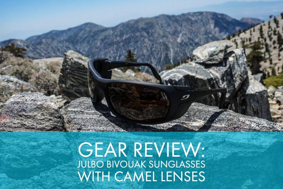 d659cb0ad3 Gear Review  Julbo Bivouak Sunglasses With Camel Lenses - Trail to Peak