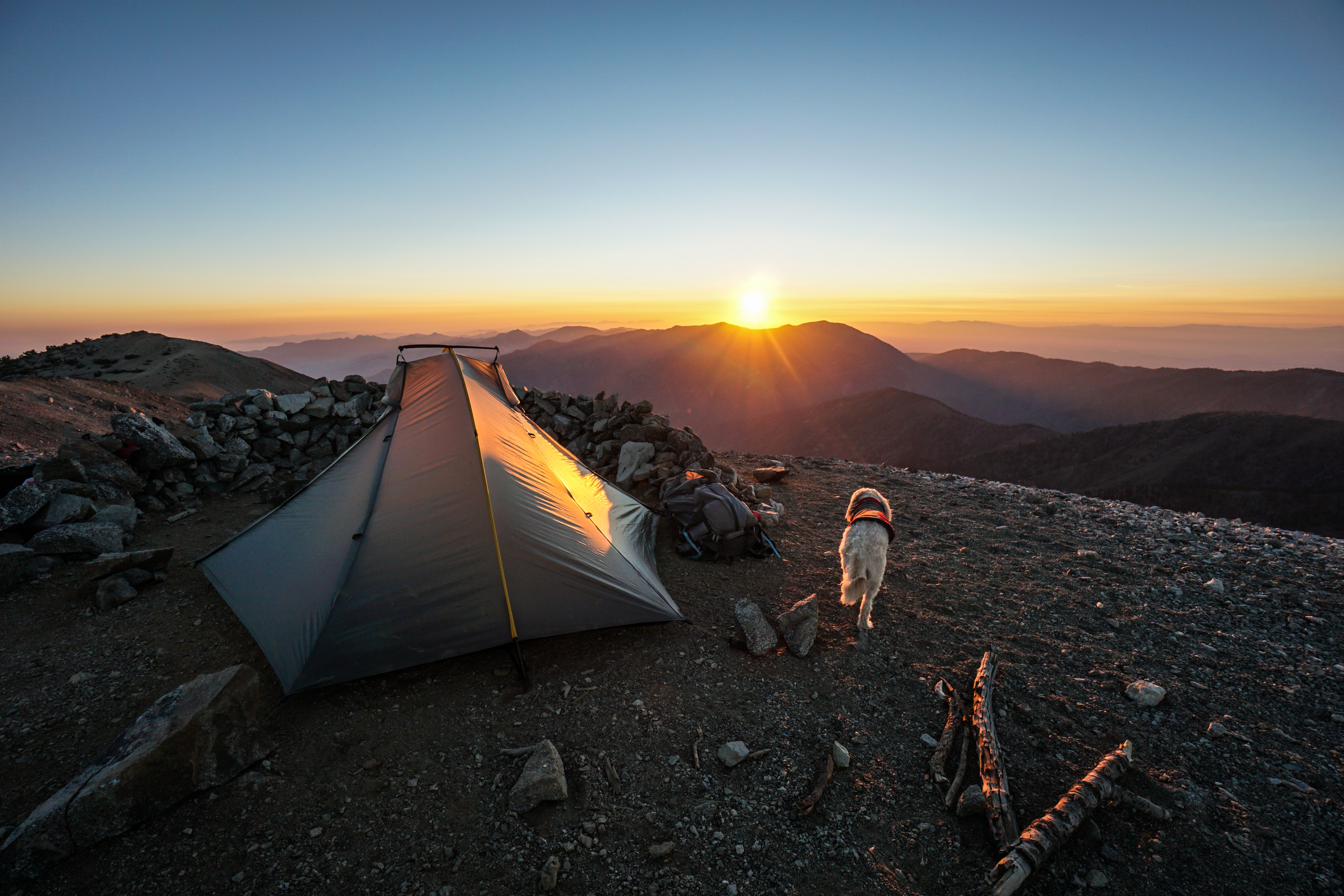 Mt. Baldy Summit Camping