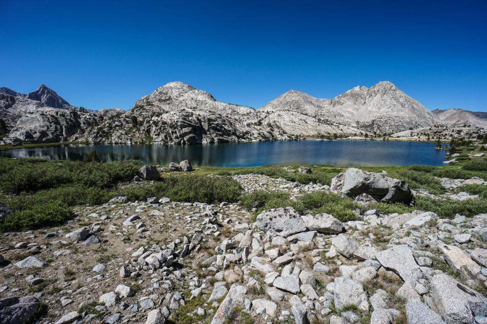 John Muir Trial Evolution Lake and Muir Pass