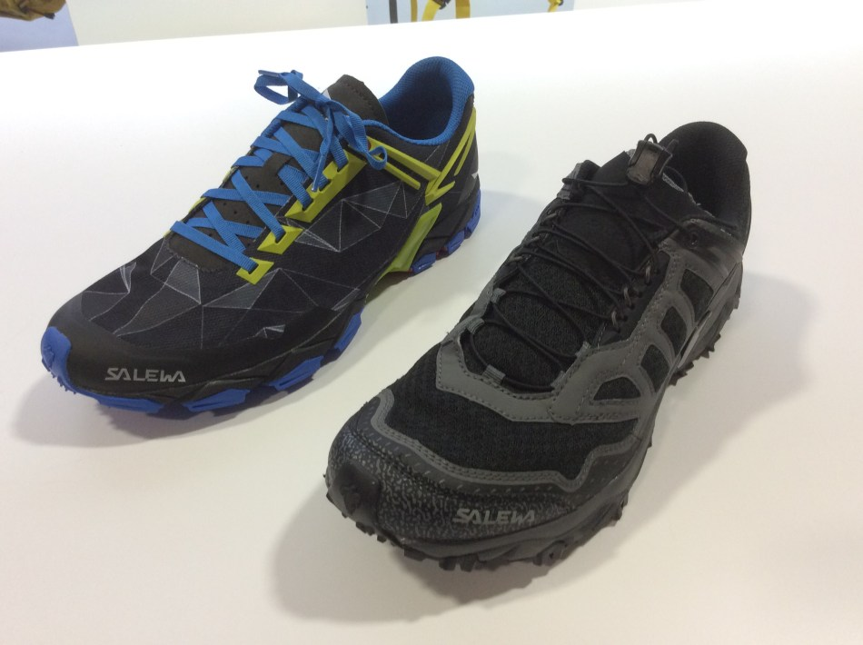 Salewa Lite Train and Ultra Train
