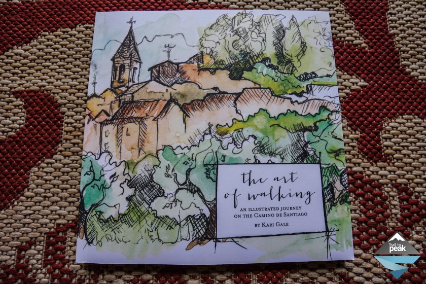 Camino de Santiago Book The Art of Walking Kari Gale