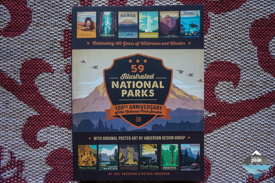 59 Illustrated National Parks, Celebrating 100 Years of Wilderness and Wonder