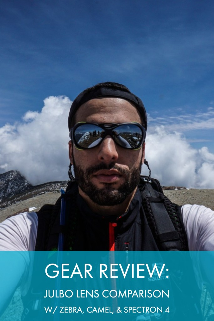 ae57982674d Gear Review  Julbo Lens Comparison For The Spectron 4
