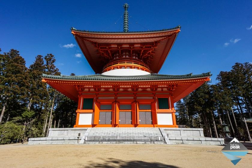 Japan Garan Koyasan Kobo Daishi Pagoda Kando