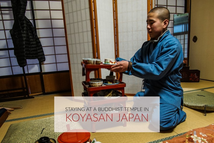 An Overnight Stay At A Buddhist Temple In The Holy Land Of Koyasan