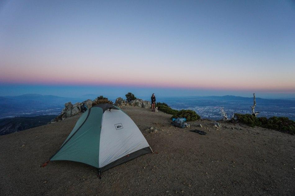 Cucamonga Peak Camping Overnight