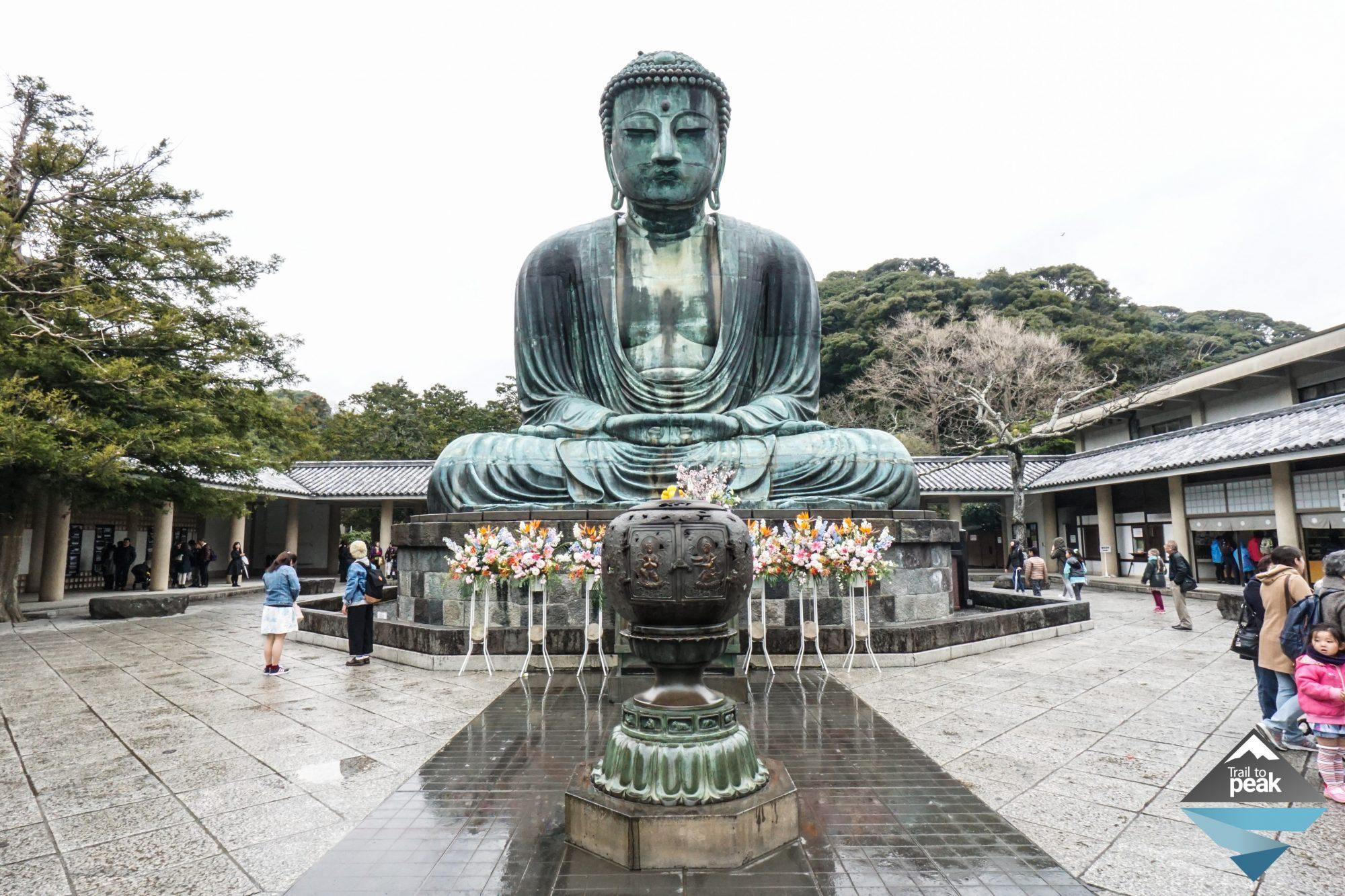 Tokyo Kamakura Japan Giant Buddha Hasadera Temple