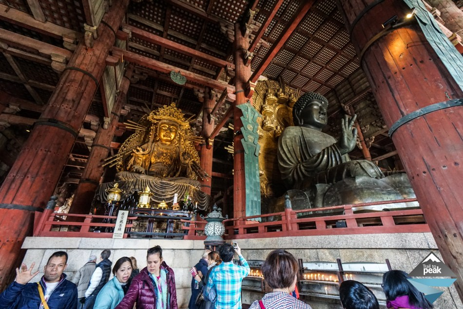 Nara Todaiji Temple Japan Kyoto
