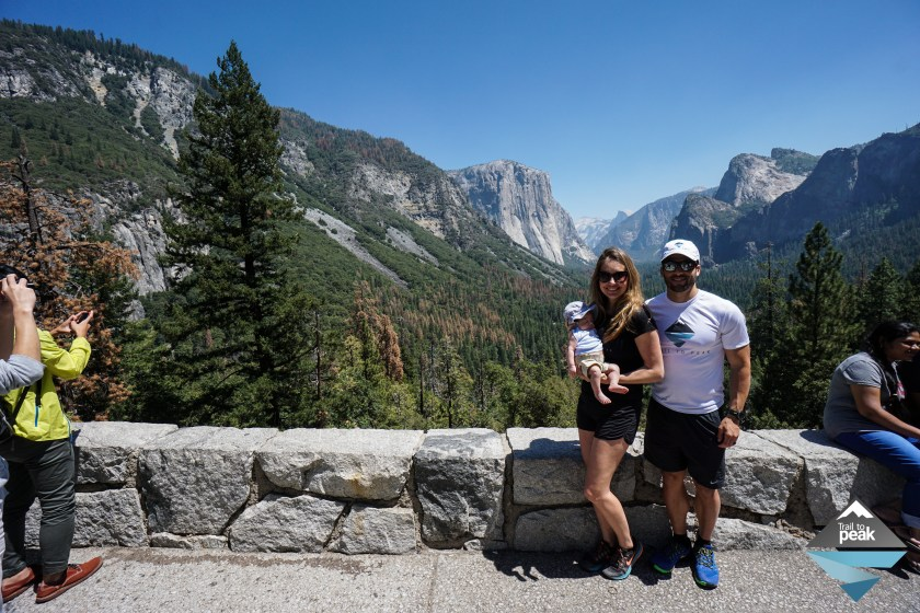 Yosemite Half Dome Lodge Road Trip National Park Tunnel View Infant