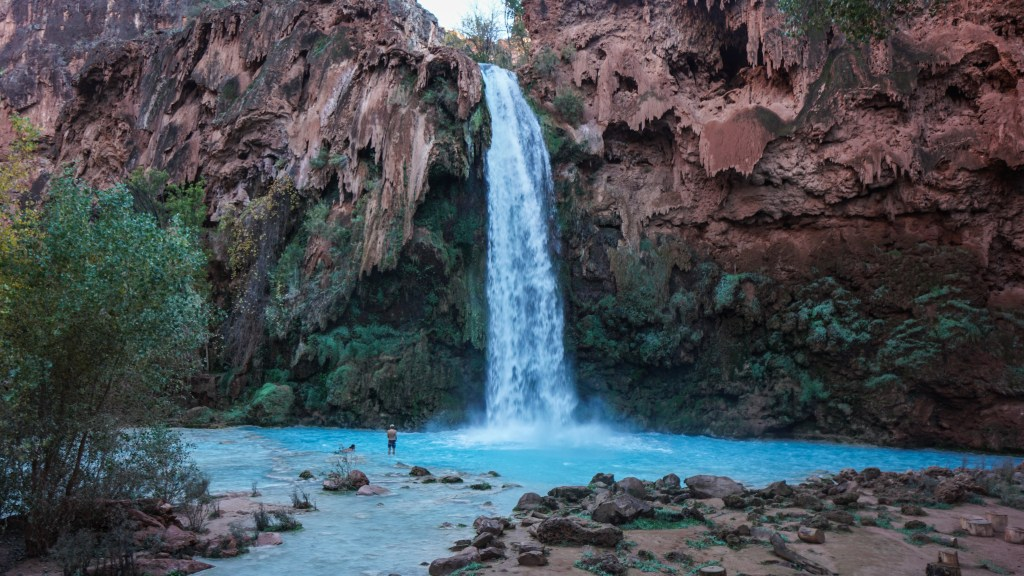 Hiking From Supai Village To Navajo, Havasu, and Mooney Falls