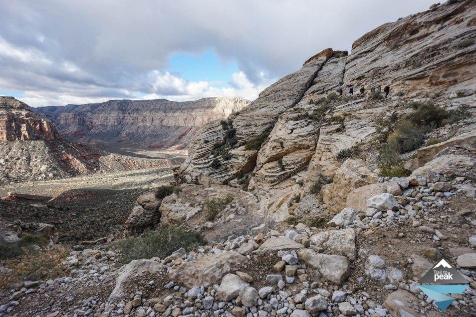 Hiking From Hualapai Hilltop To Supai Havasupai Falls