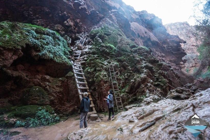 Hiking From Supai Village To Navajo, Havasu, and Mooney Falls Havasupai Falls
