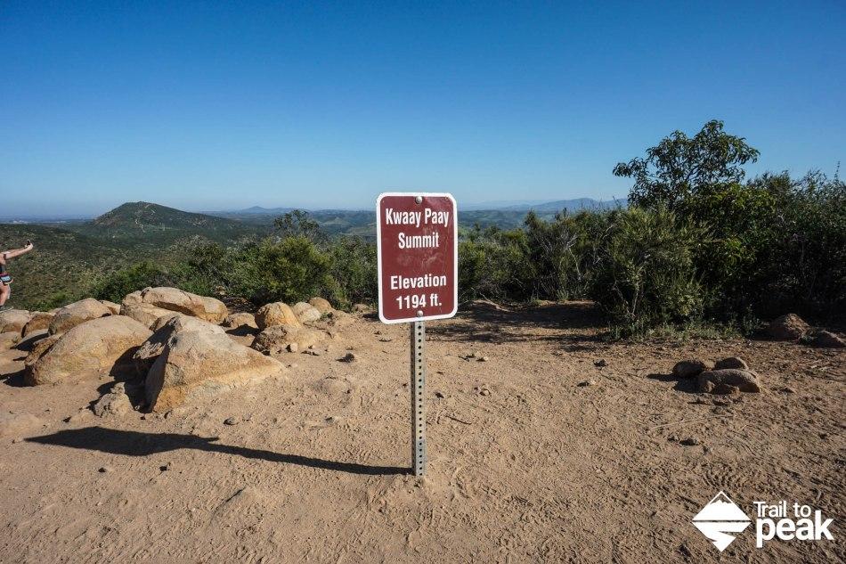 Hiking Kwaay Paay Peak Trail To Peak