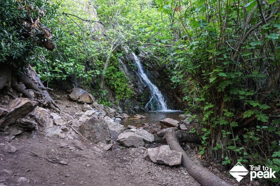 Hiking Santiago Peak Holy Jim Trail and Holy Jim Falls Trabuco Canyon
