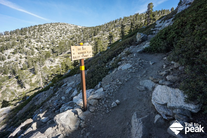 Hiking Mt. Baldy via the Ski Hut Trail (Baldy Bowl Trail)