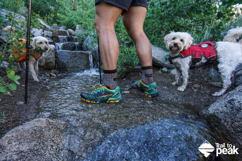 La Sportiva Bushido Gear Review Shoe Trail Running Hiking Backpacking