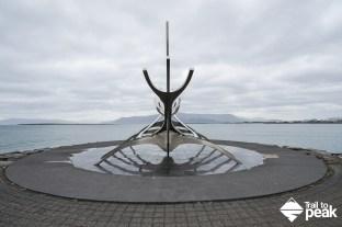 A self guided walking tour of Reykjavik Hallgrímskirkja Harpa Sólfarið Sun Voyager