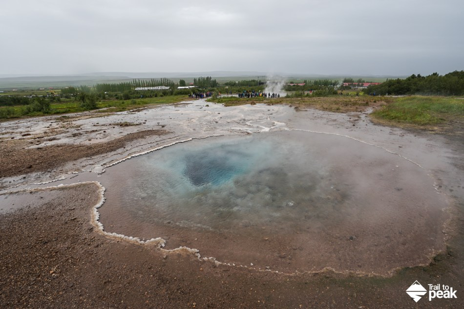 Driving Iceland's Golden Circle Geysir
