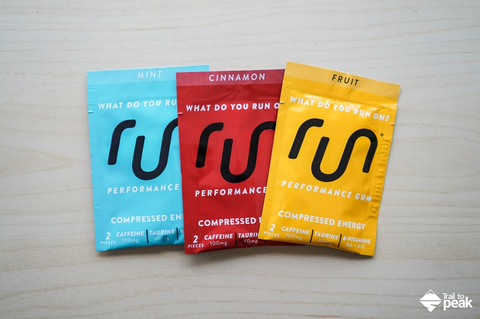 Review: Run Gum Caffeinated Energy Gum