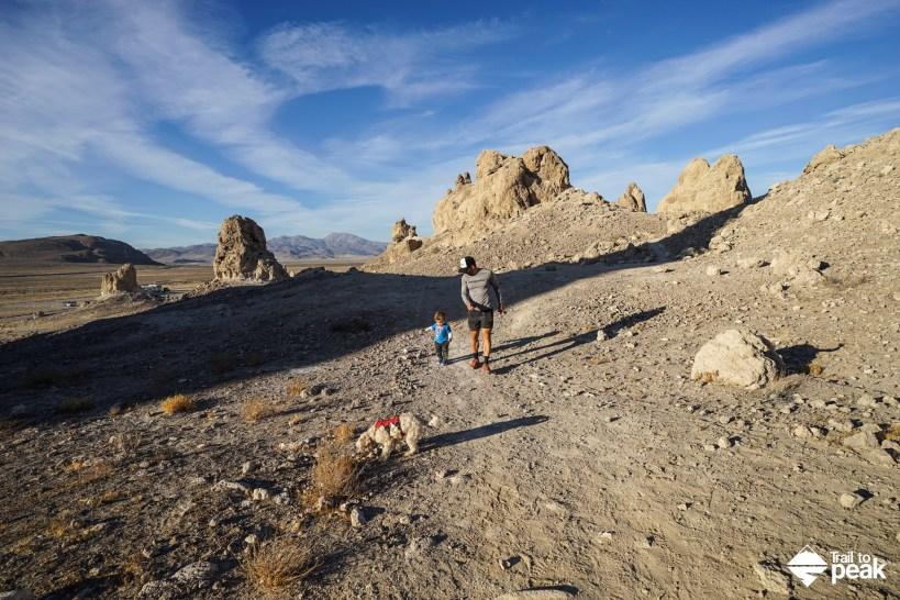 Camping At Trona Pinnacles In The California Desert