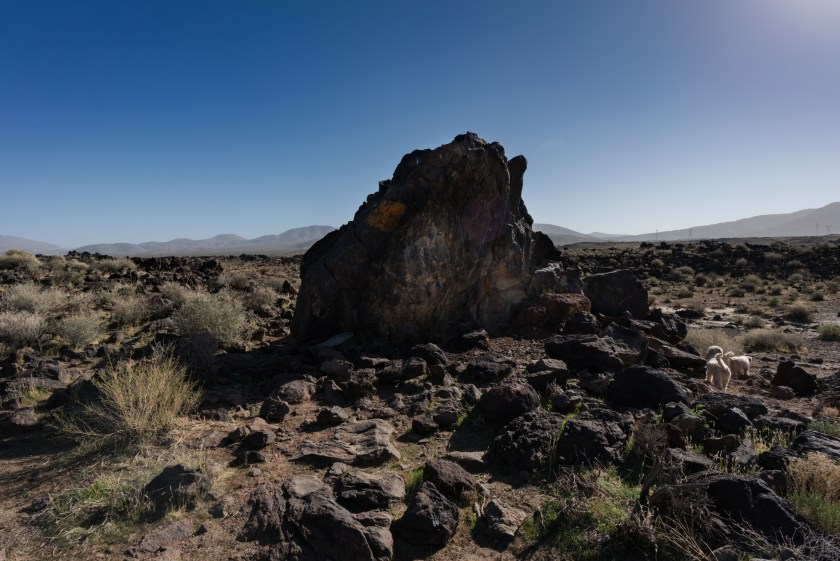 Hiking And Camping At Fossil Falls