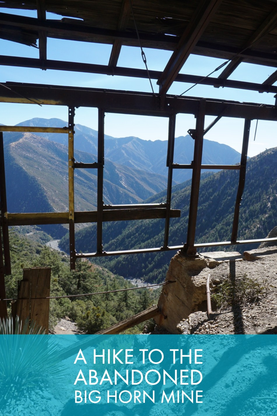 Hiking to the abandoned Bighorn Mine