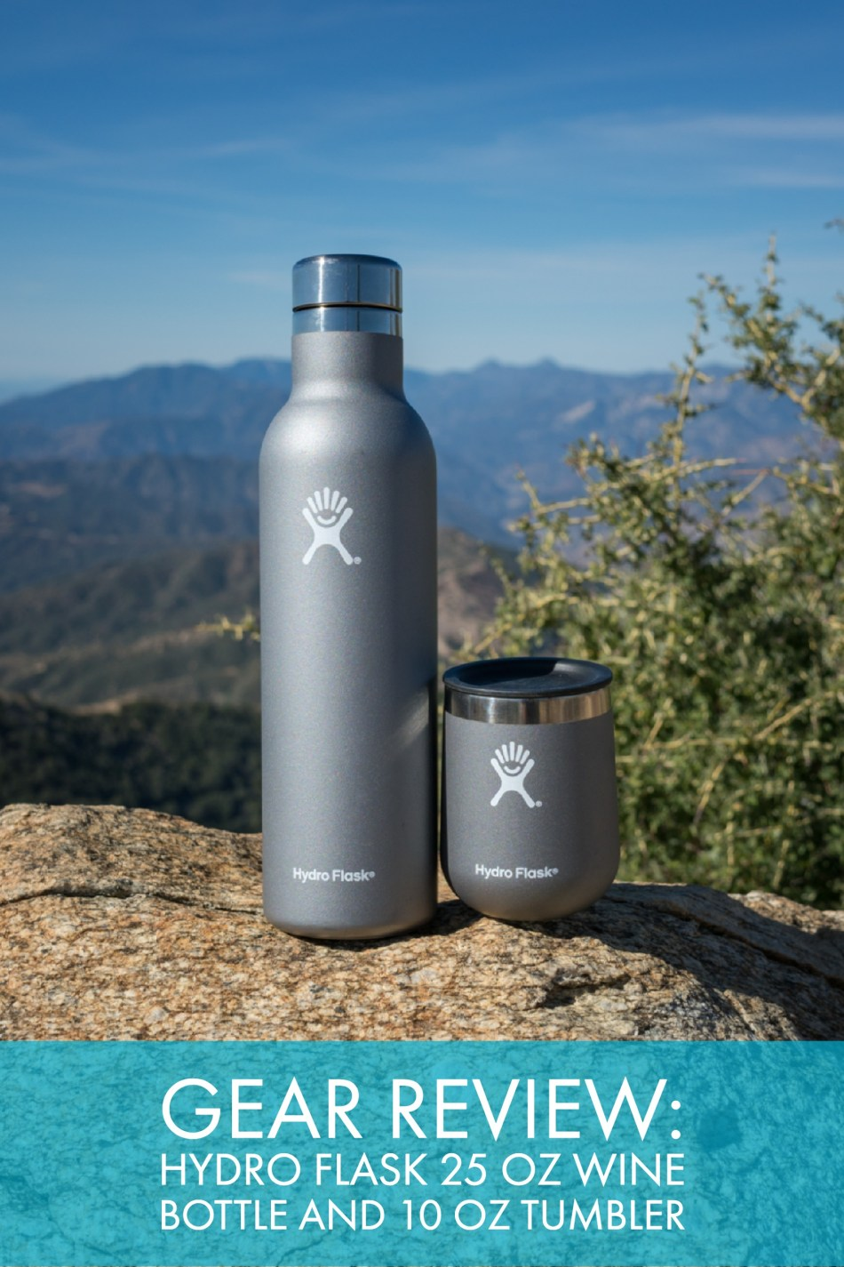 Review: Hydro Flask 25 oz Wine Bottle And 10 oz Tumbler
