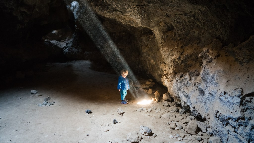 Hiking The Lava Tube Trail In Mojave National Preserve