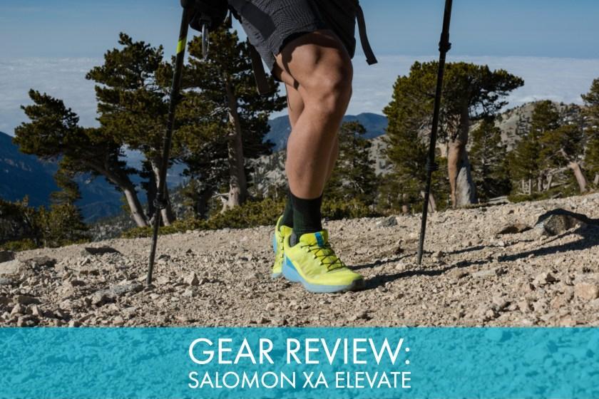 Salomon Womens Xa Elevate Trail Running Shoes