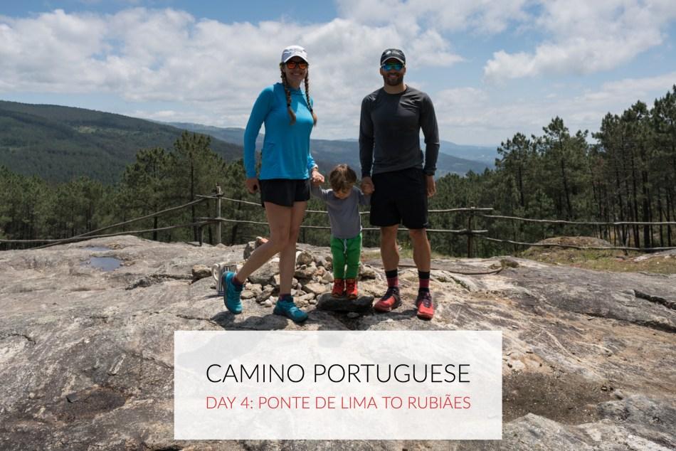 Camino Portuguese Day 4: Ponte de Lima to Rubiães